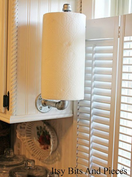 This easytomake paper towel holder is the perfect gift