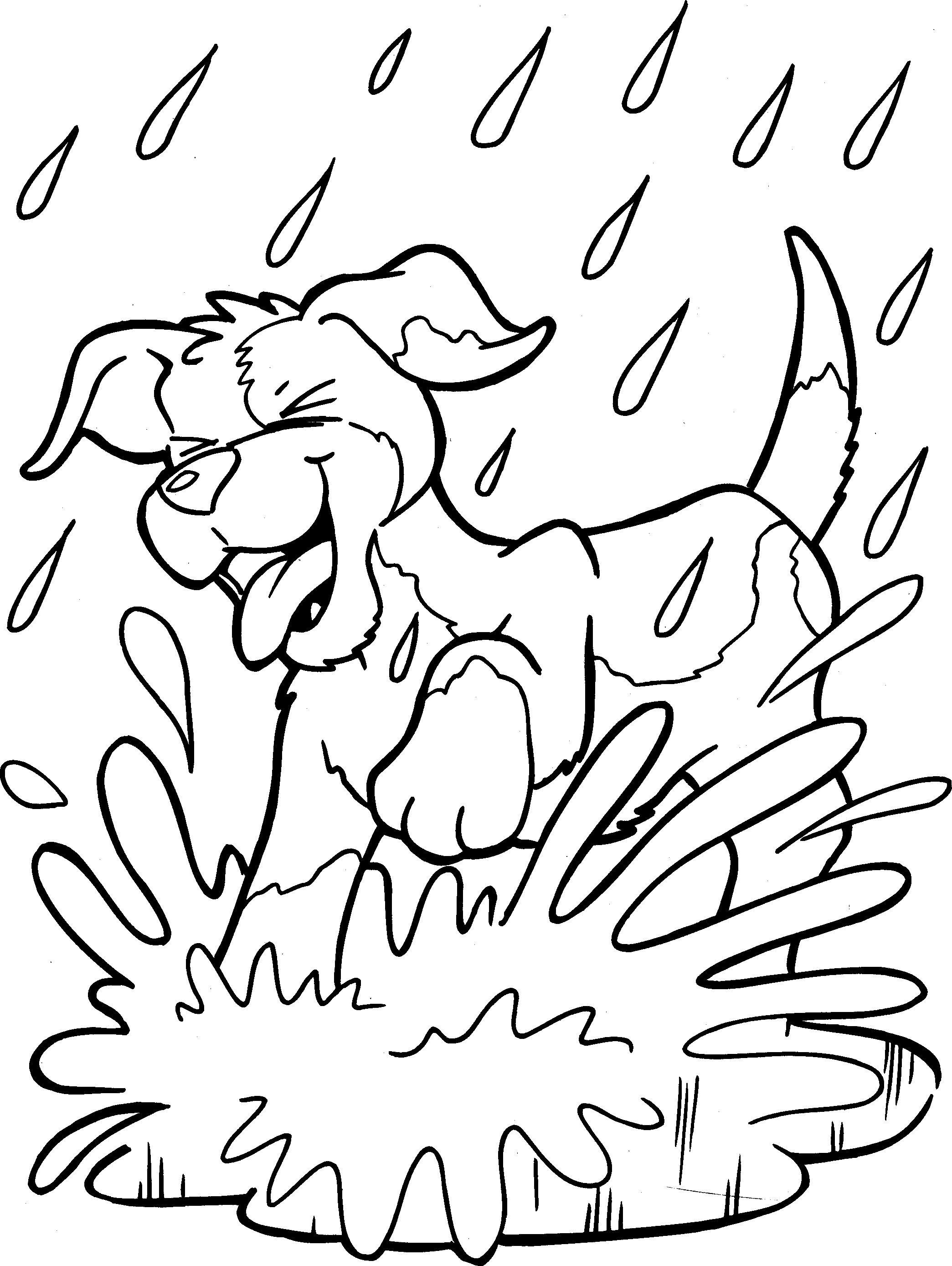 Hondjes Kerst Kleurplaat Honden Kleurplaat Kleurplaten Kleurplaten Honden En