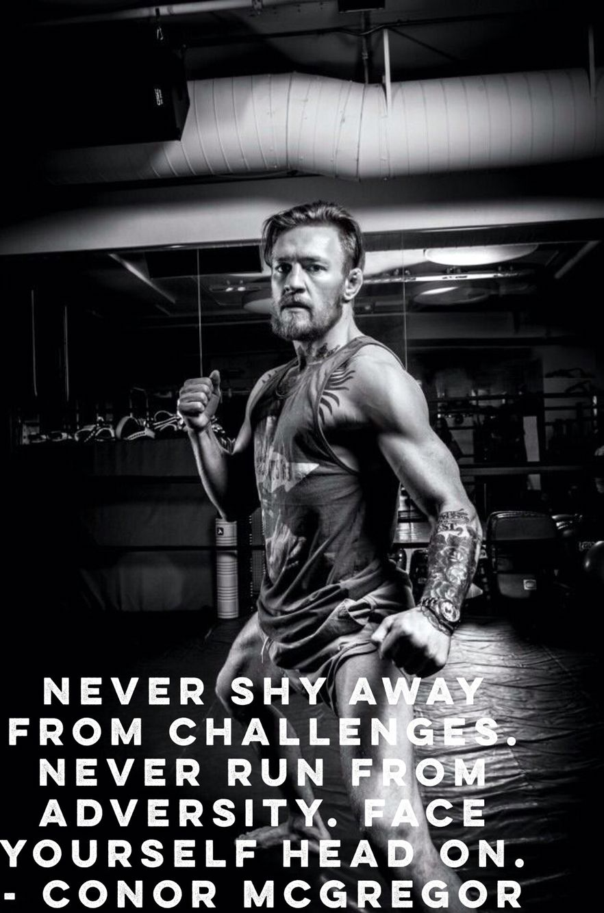 Even Though He May Have Lost Against Diaz He Took It Like A Man Everyone Has To Lose At Some Point And Time Conor Mcgregor Conor Mcgregor Quotes Ufc Fighters