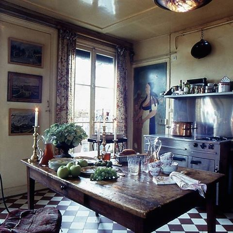 atable #cuisine #style #campagne #paris #country #style #kitchen