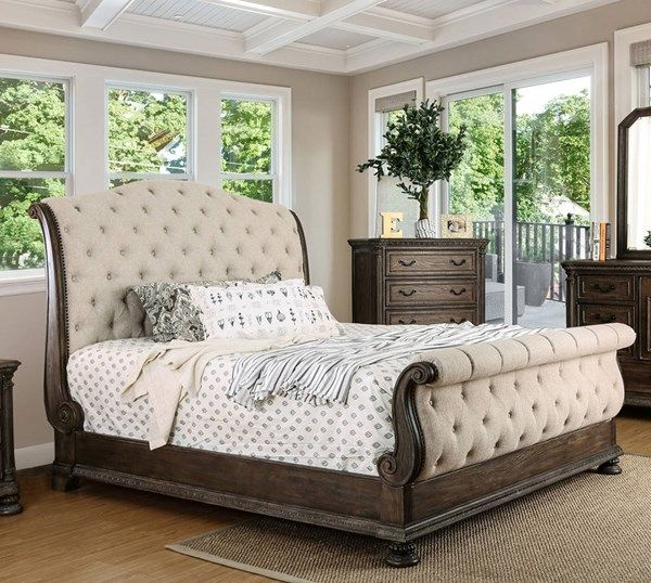Furniture of America Lysandra Cal King Bed | Pinterest