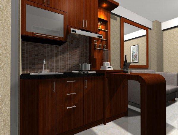 kitchen set apartemen. Interior Design Ideas. Home Design Ideas