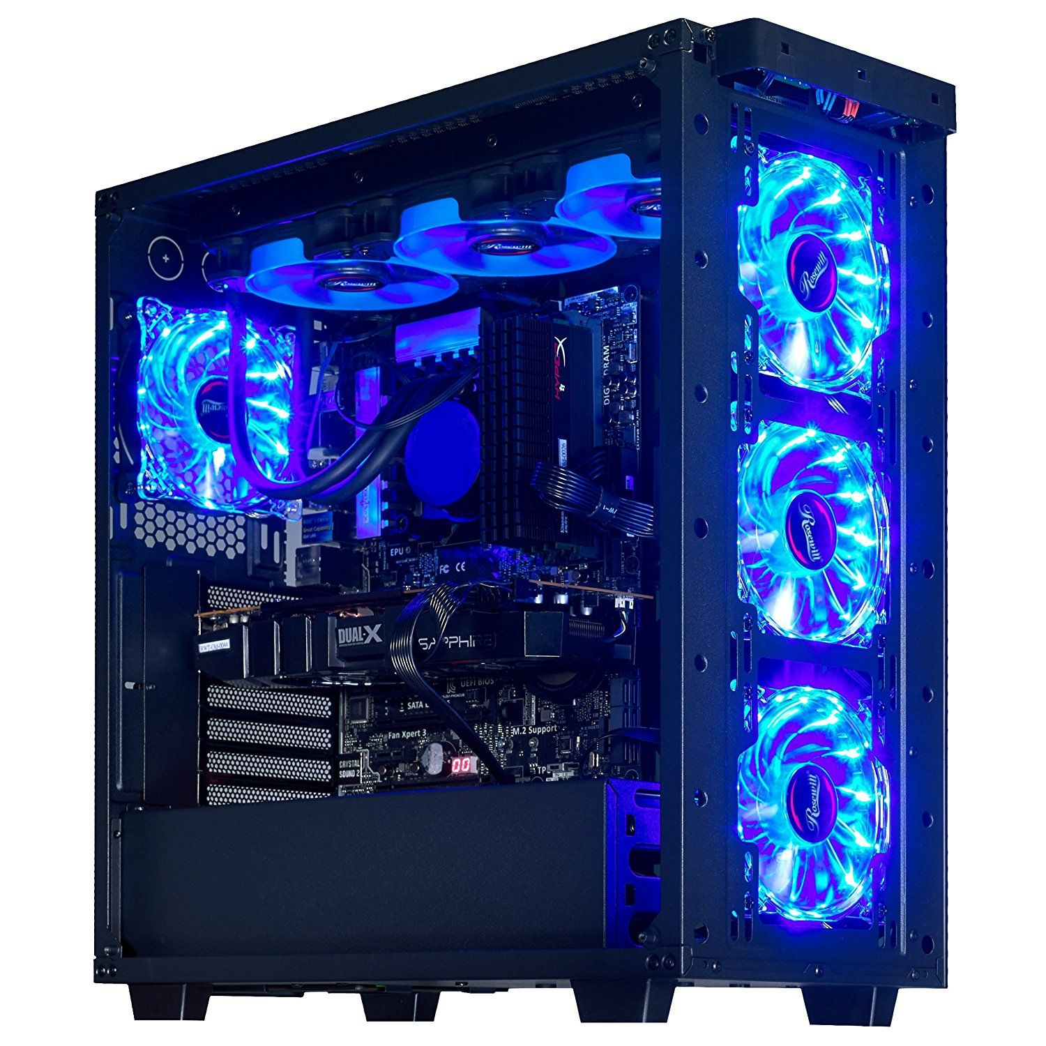 Ibuypower S Liquid Cooled Erebus Chassis Is Designed To Maximize