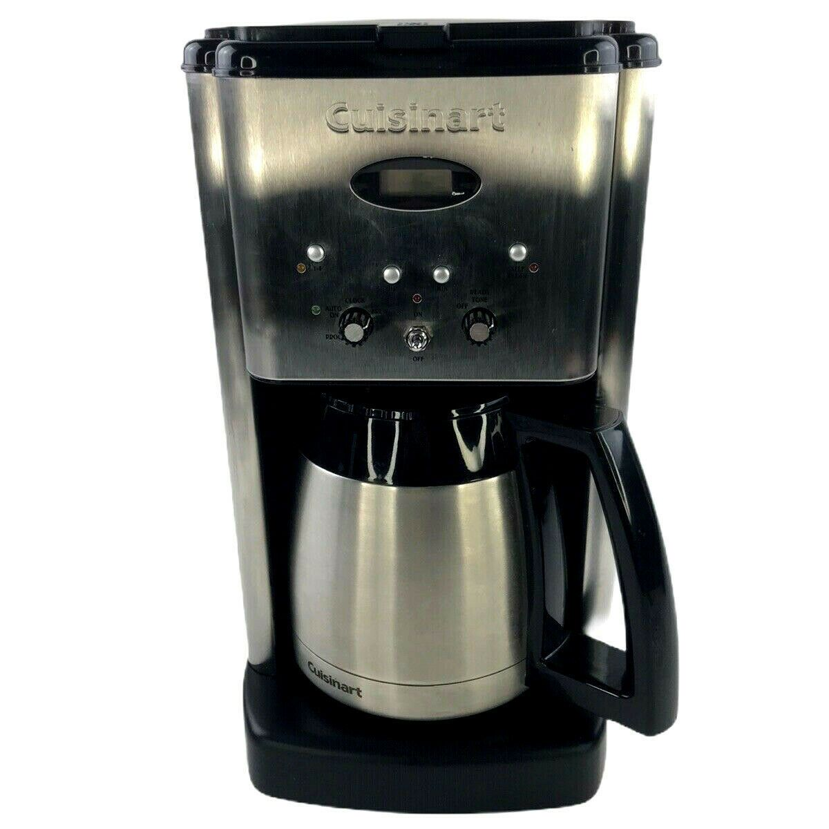 Cusinart Brew Central Thermal Coffeemaker 1 New Filter Dcc 1400 Series Tested Ebay In 2020 Coffee Maker Cuisinart Coffee Maker Single Cup Coffee Maker