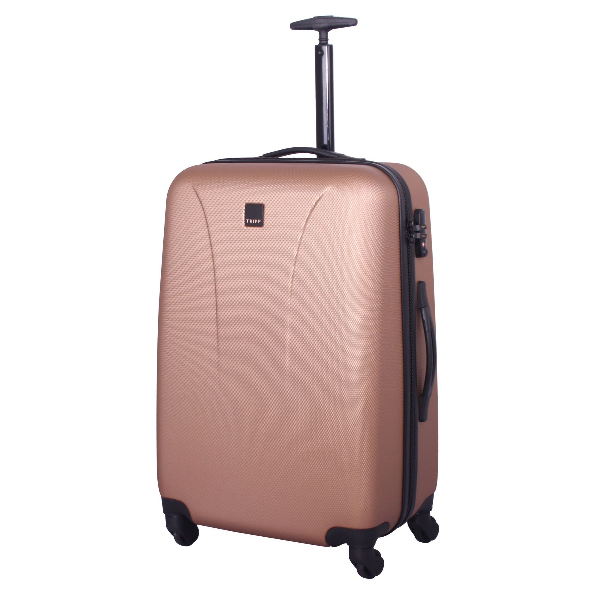 Tripp rose gold 'Lite' 4 wheel medium suitcase - Hard Suitcases ...