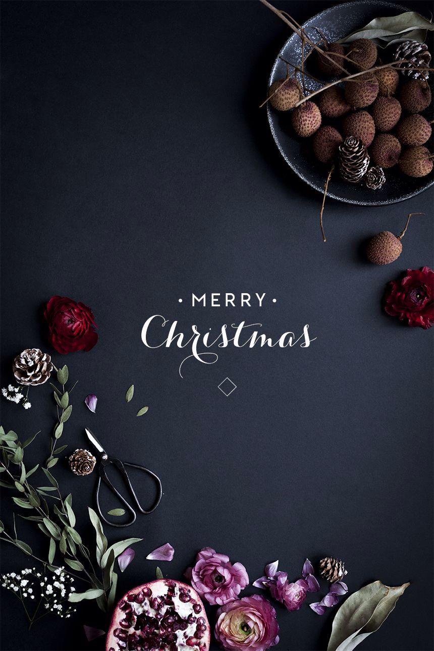 Merry christmas chalk sign (pd) Christmas holidays