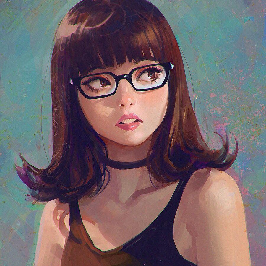 Manga Anime Vintage Semi Realist Digital Art Art Girl Illustration Manga Art