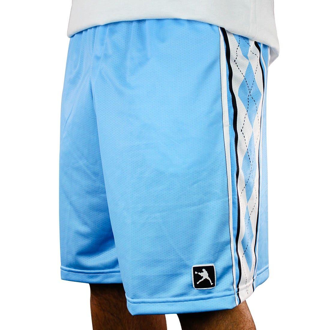 Lacrosseunlimited carolina argyle lacrosse shorts