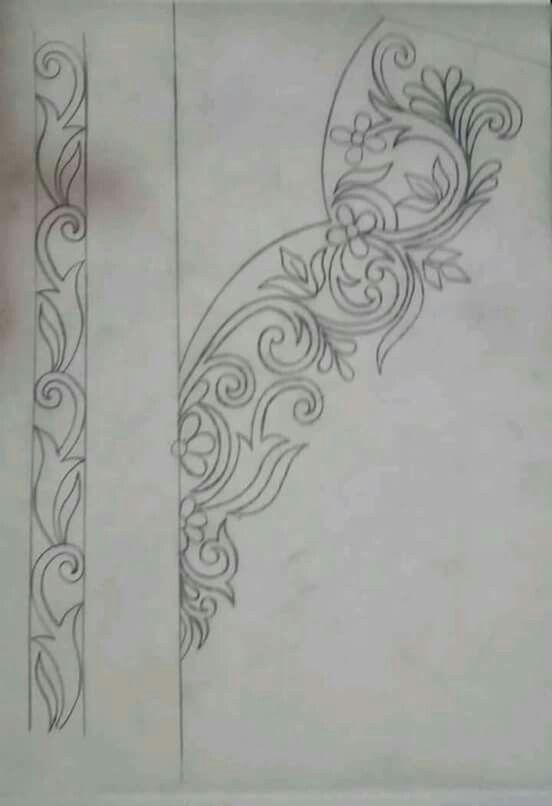 Pin de chahinaz en les dessin rchamete | Pinterest | Bordado, Dibujo ...