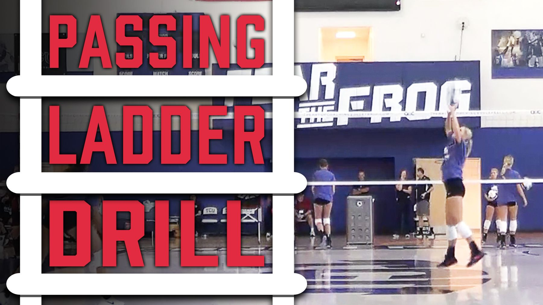 Passing Ladder Drill With Christy Johnson Coaching Volleyball Volleyball Equipment Volleyball Training