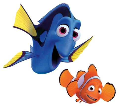Finding Nemo Finding Nemo Characters Dory And Marlin Disney Finding Dory