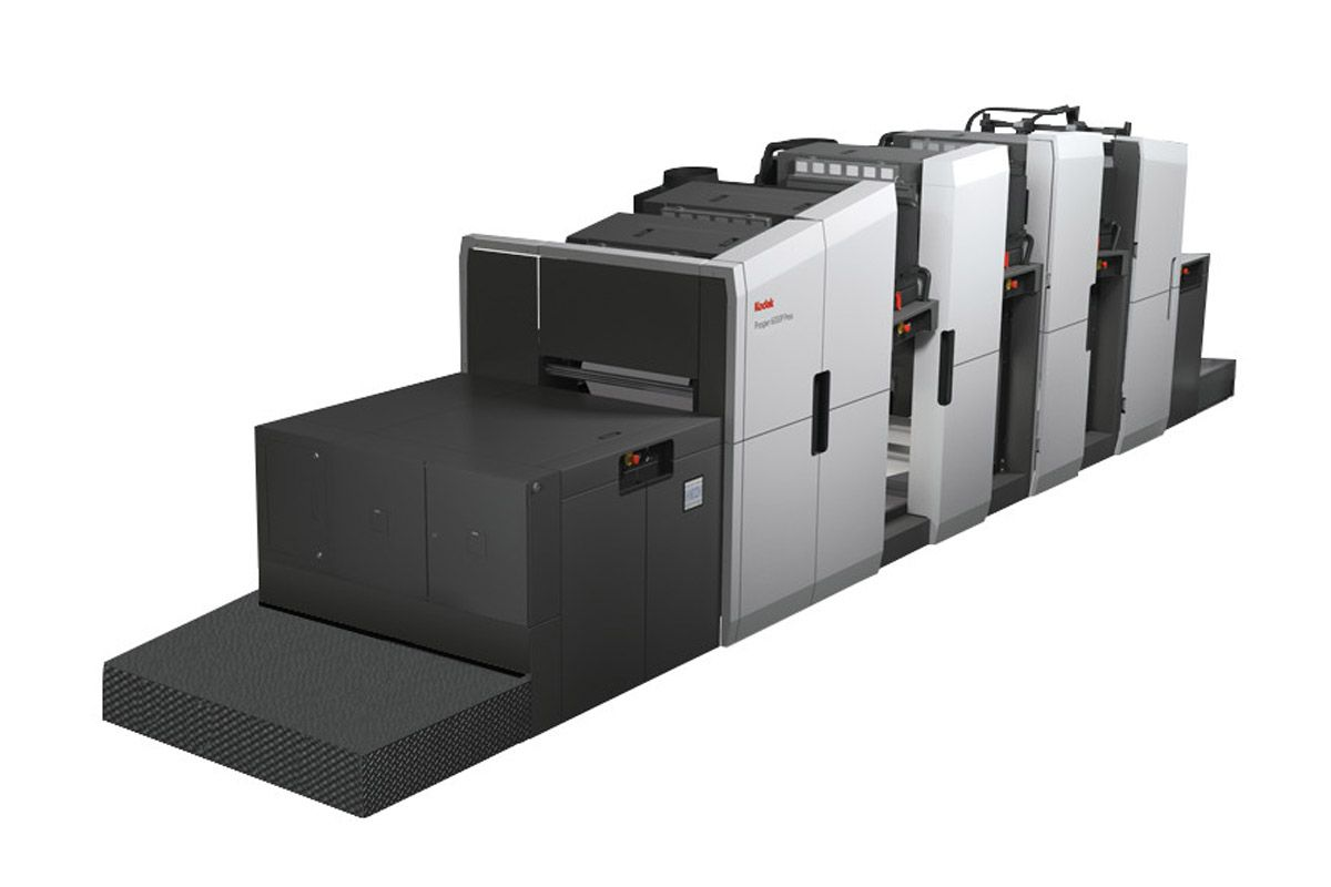 The Kodak Prosper 6000s Standalone Is A Continuous Feed Production