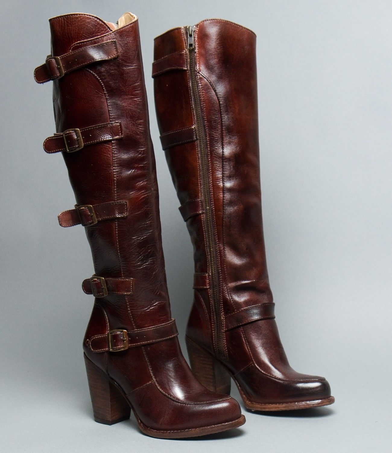 Genuince Bed Stu Turn Teak Rustic - Boots For Women R3989nz1400