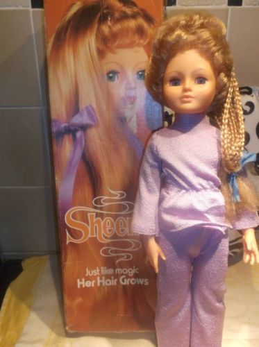 Vintage Boxed Sheena Hair Growing Doll Vintage Doll Pinterest