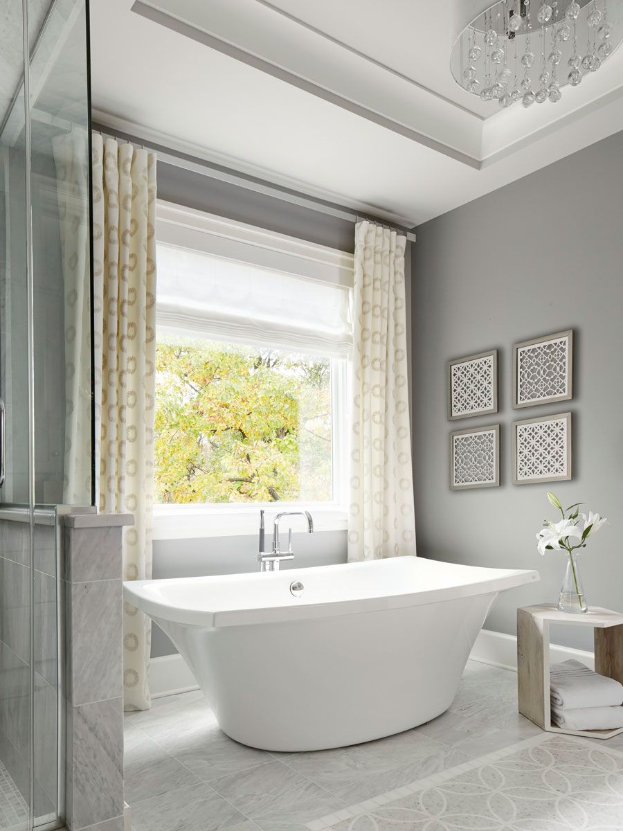 Design Ideas for Neutral Color Master Bathrooms | Bathroom ...