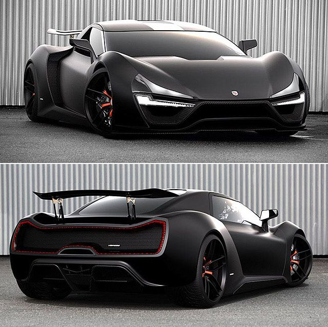 TRION NEMESIS is the First American built Hypercar Ever Made