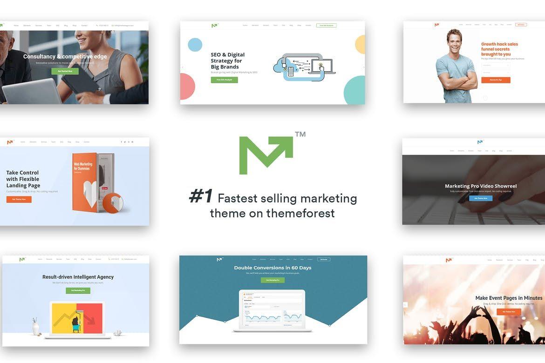 Marketing Pro – SEO, Landing, Marketing Theme by