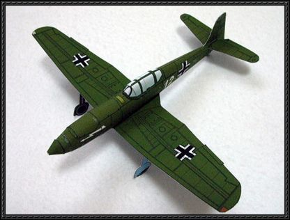Wwii Heinkel He 100 D 1 Free Airplane Paper Model Download Paper Models Wwii Aircraft Card Model