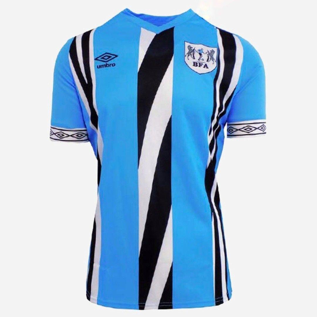 Download Botswana 19/20 home | Umbro, Football shirts, Stripes design