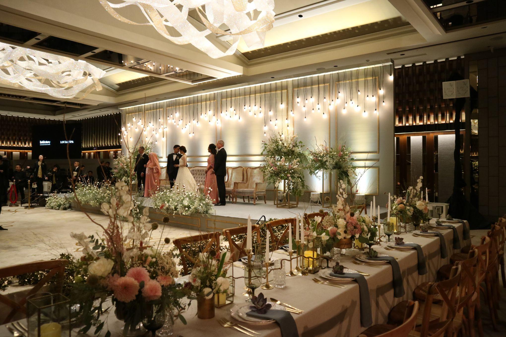 Dekorasi Ruang Makan Pernikahan