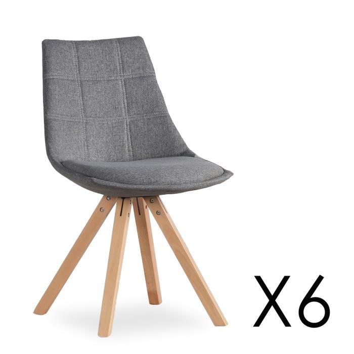 tissu chaise scandinave