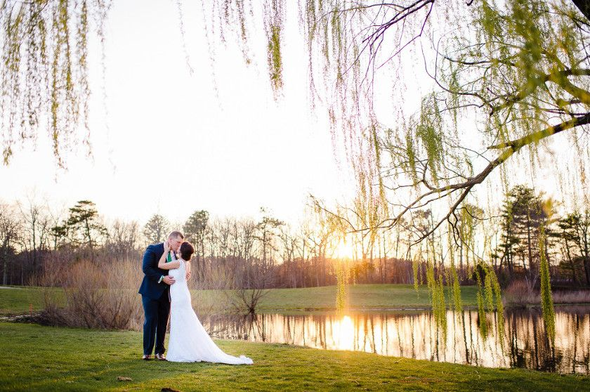 South Jersey Wedding Venue Photos Outdoor Willow Tree Lake