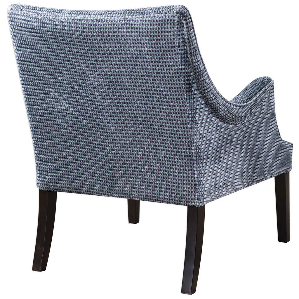 Uttermost Luella Chenille Accent Chair Accent Chairs Chair And