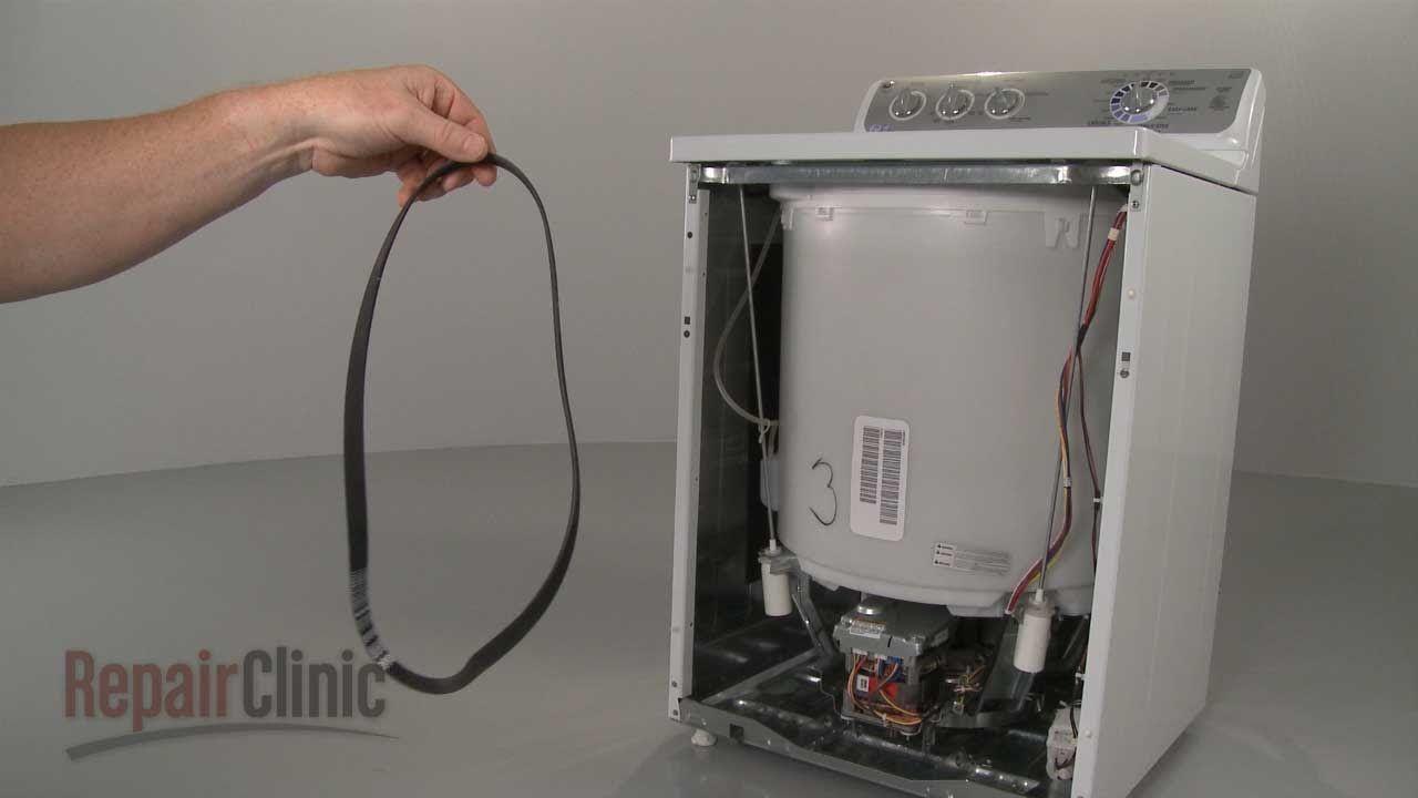 Washer Won\'t Spin? – GE Top-Load Washing Machine Drive Belt ...