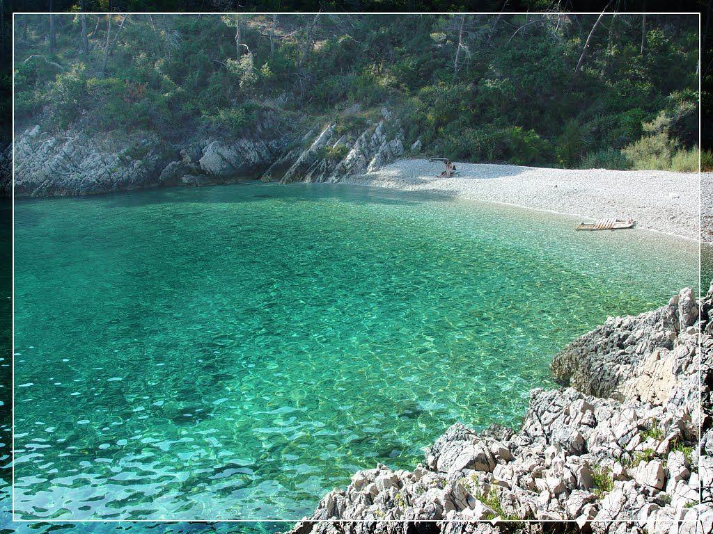 Beautiful Beach Near Drenje Clear Water Labin Croatia East Istria Croatia Beach Croatia Holiday Croatia Vacation