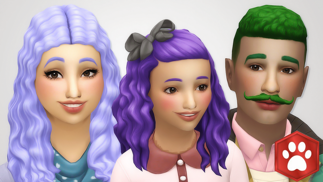 Cats And Dogs Hair Recolorsall Of The Hairs From The New Cats And
