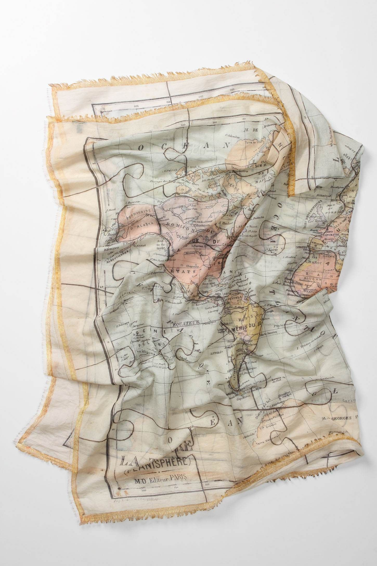 Map scarf. Yes.