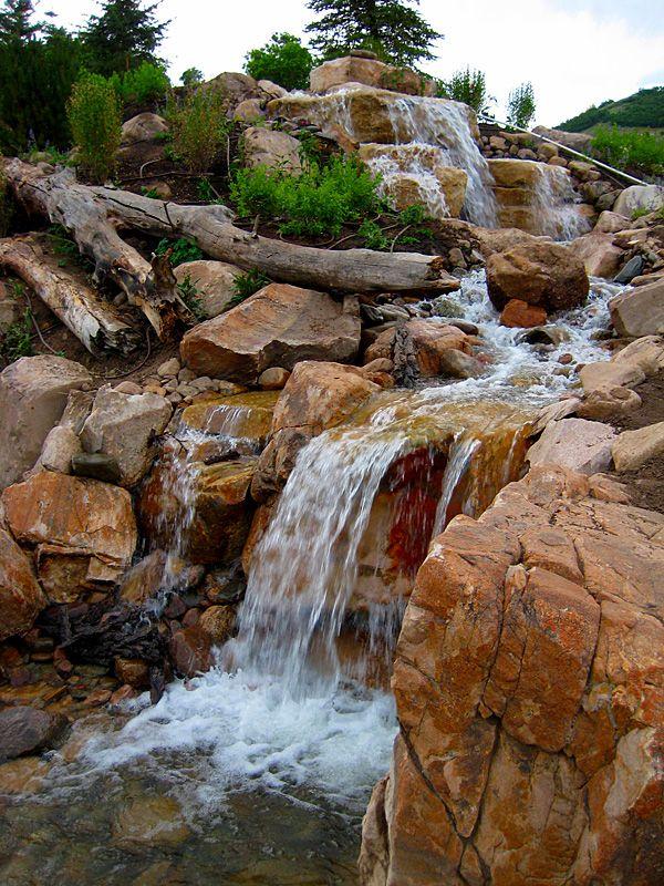 RockScapes   Landscaping with rocks, Garden, Water on Backyard Rockscape Ideas id=91305
