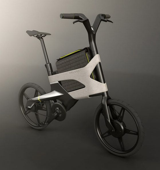 concept bikes from the peugeot design lab bicycle design. Black Bedroom Furniture Sets. Home Design Ideas