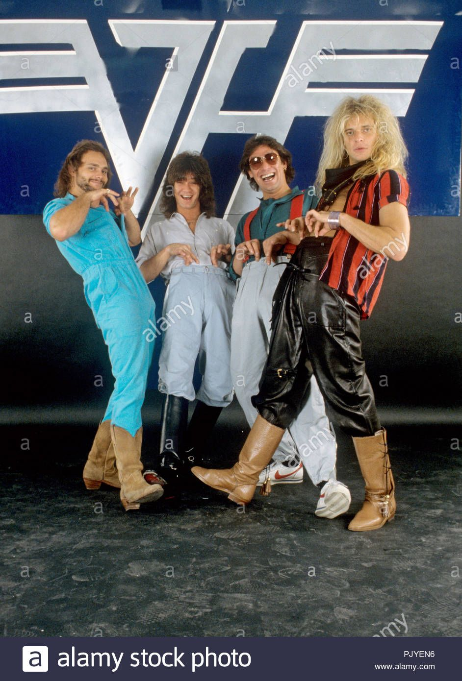 Let S Lean And Flex A Little More Now Rf Van Halen David Lee Roth Eddie Van Halen