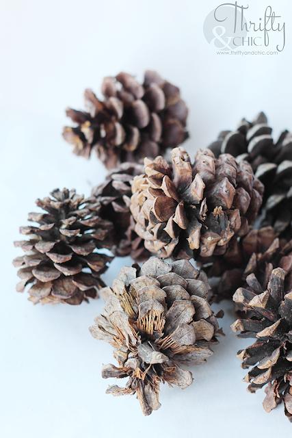 Diy Winter Pine Cone Wreath Tutorial Pinecone Christmas