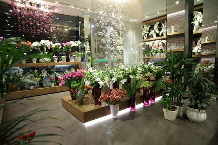 Florist shops flower shop by aysu c cek istanbul flower for Designs east florist interior