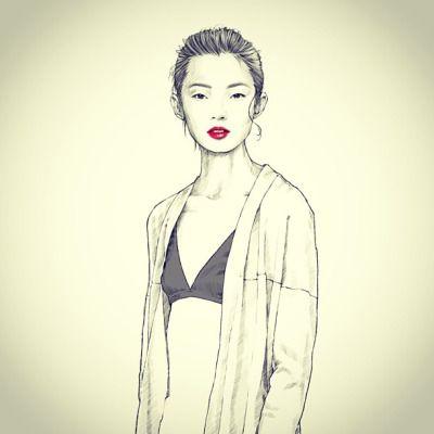 #xiaowen #fashionillustration @jujujuxiaowen
