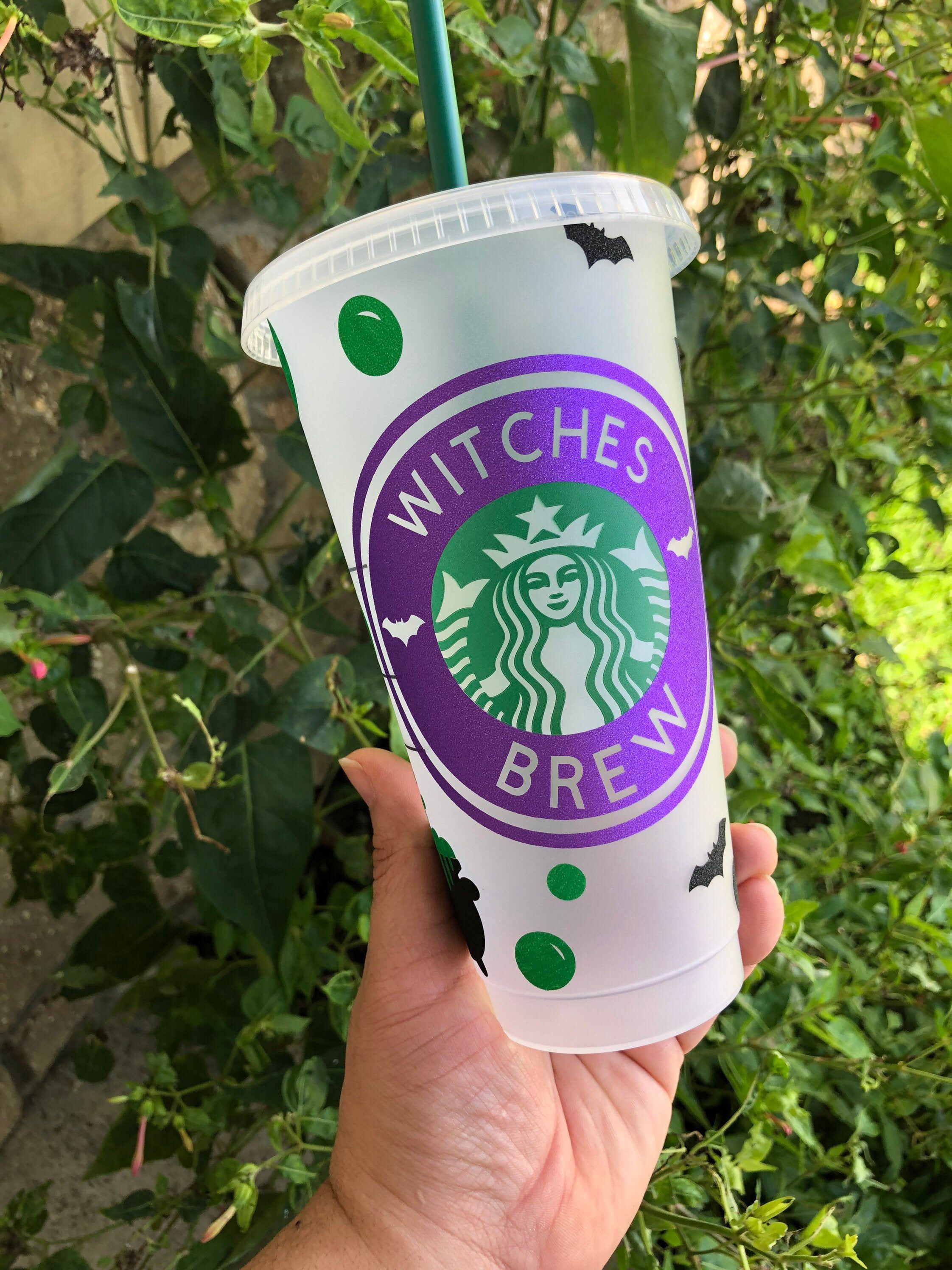 Witches Brew STARBUCKS CUP Reusable cup Venti Cup Etsy