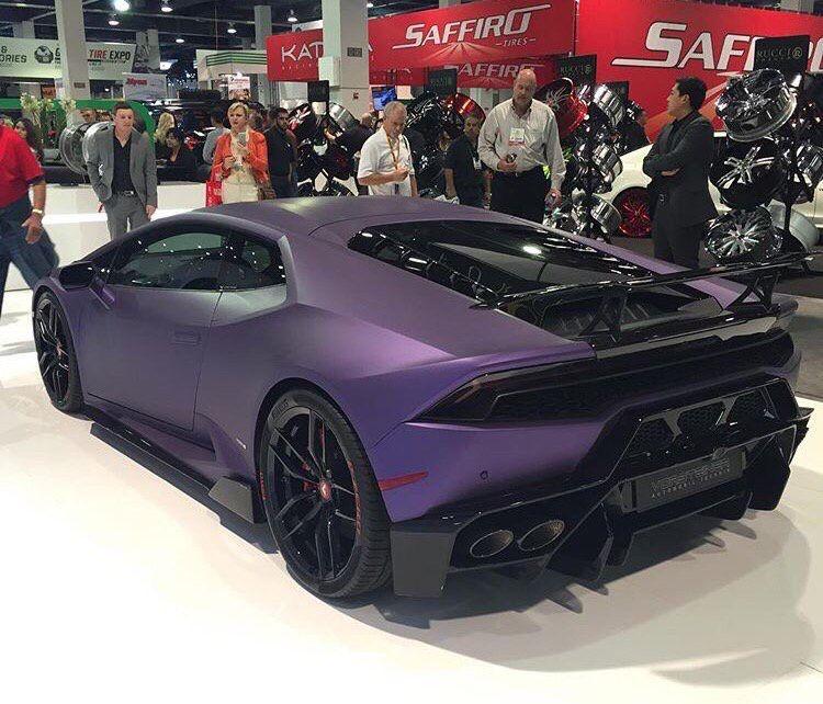 Matte Purple Lamborghini Huracan Cars Sports Cars