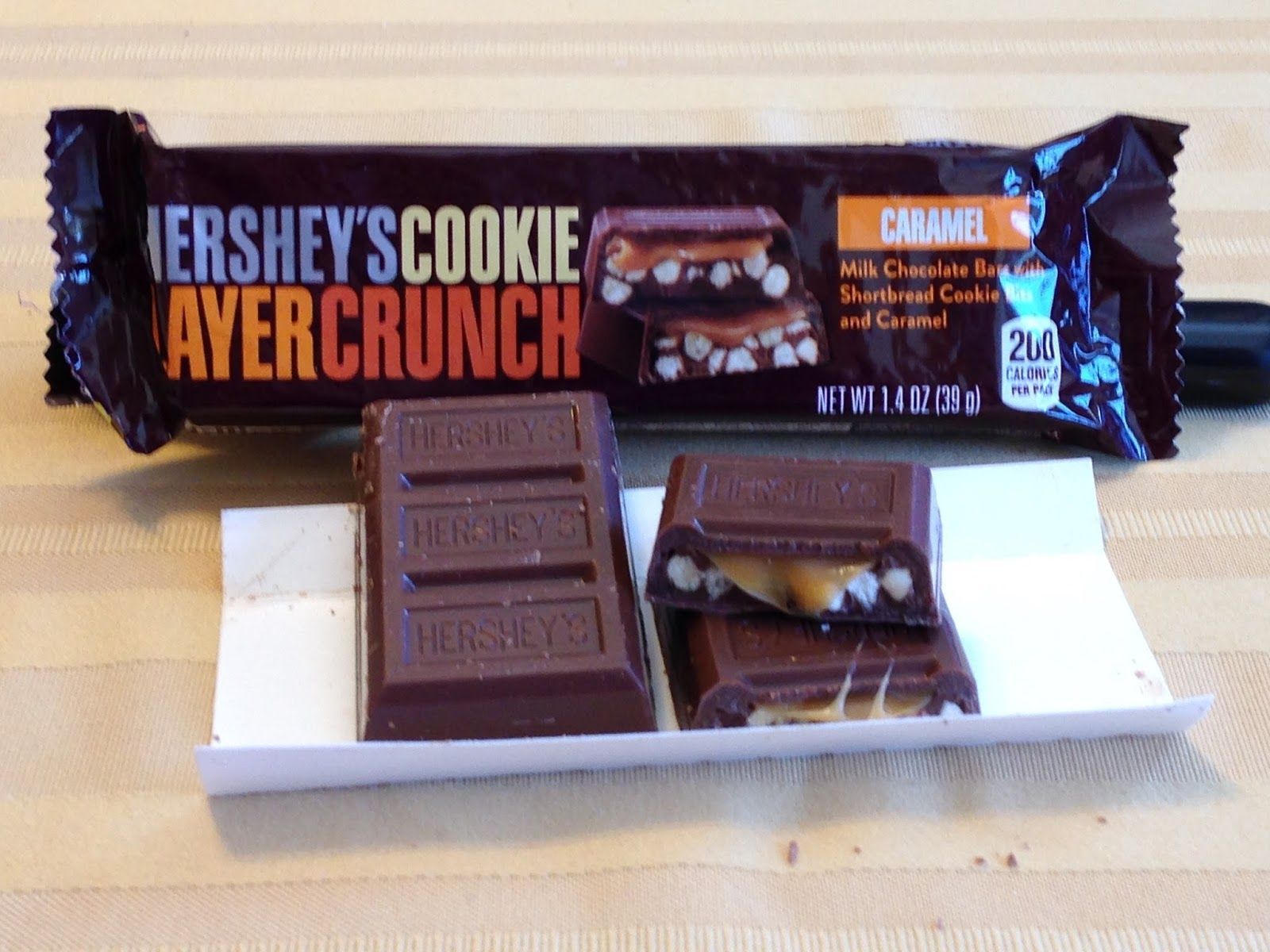 Hershey S Cookie Layer Crunch Bar Caramel Variety I M Sure Many Of