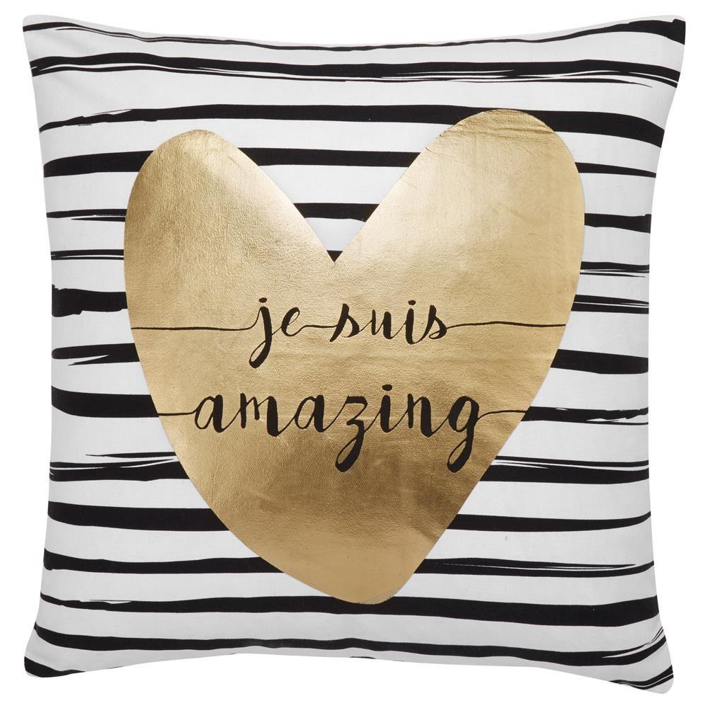 "Amazing Decorative Pillow 19"" x 19"""