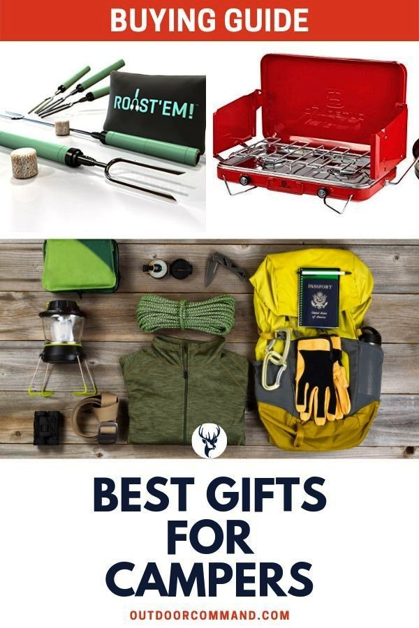 Gifts For Campers Best gifts for campers. It can be hard to find the perfect gift that can be enjoy