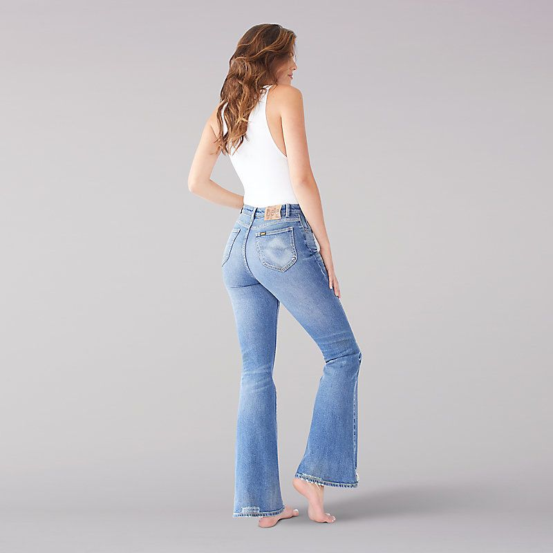 shop for best pretty cool how to purchase Lee Women's Vintage Modern High Rise Flare Jeans - (Size 26 ...