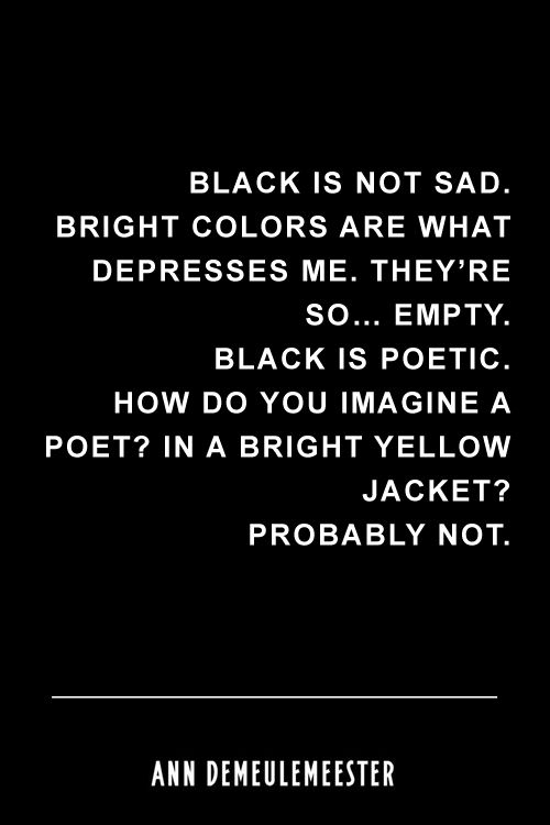 I agree and disagree at the same time i love black and bright colors pastels and basically everything in between
