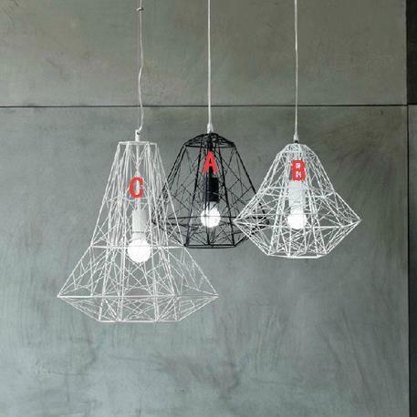 Creative Arts lustre moderne minimaliste acrylique pot LED lampe - lustre pour salle a manger