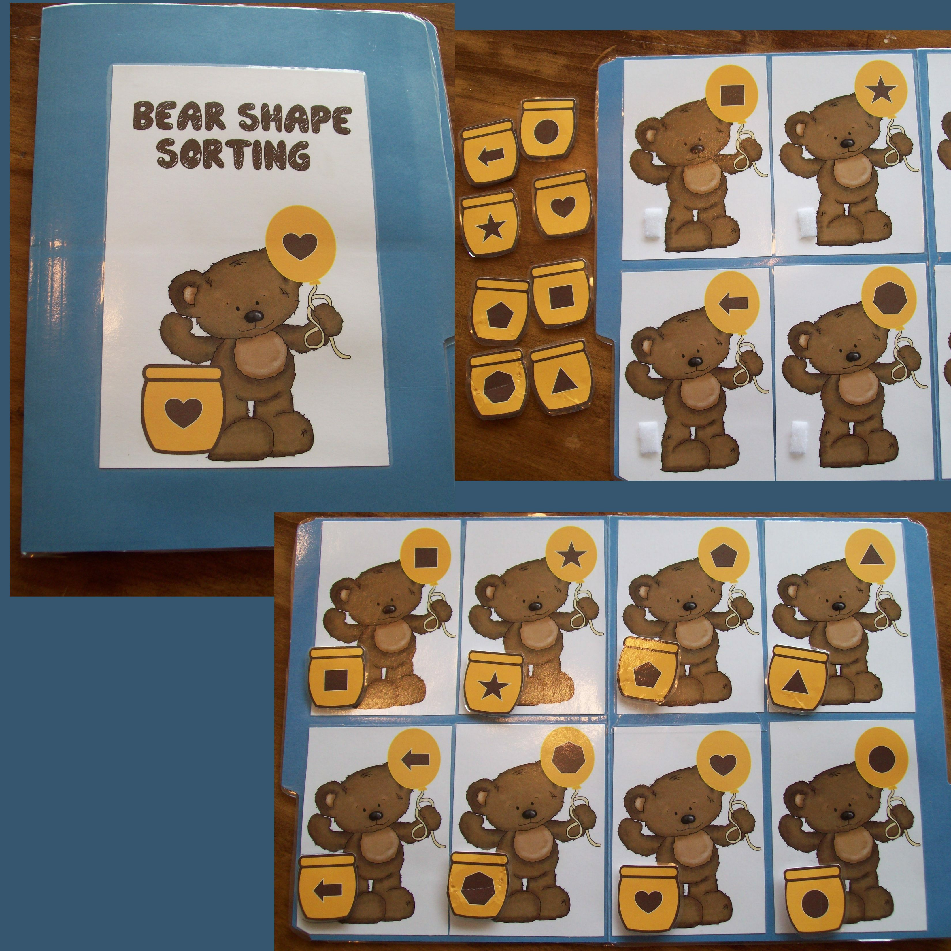 Bear And Honey Pot Shape Matching With Images