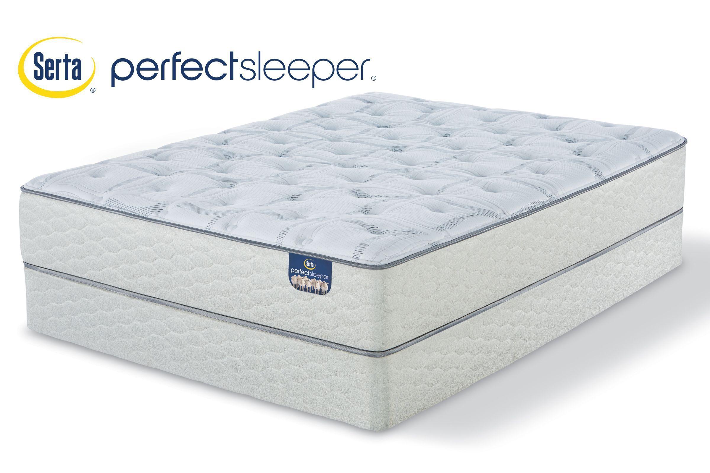 Serta Perfect Sleeper Leary Plush King Mattress With 2 Low