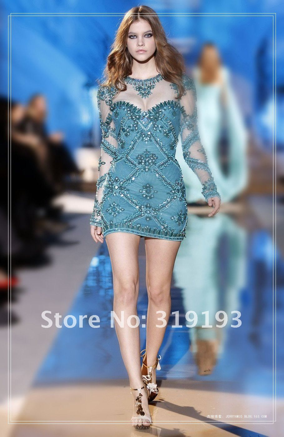 Aliexpress.com : Buy Zuhair Murad Designer 2013 A line White Long ...