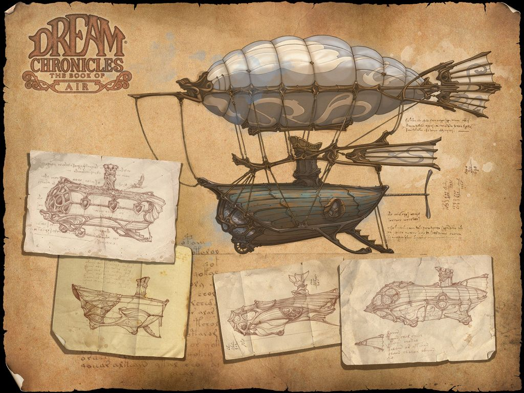 Pin by Aaron Stratton on Airships | スチームパンク