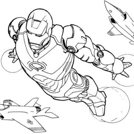 Iron Man Flight Superhero Coloring Pages Superhero Coloring Iron Man Flying